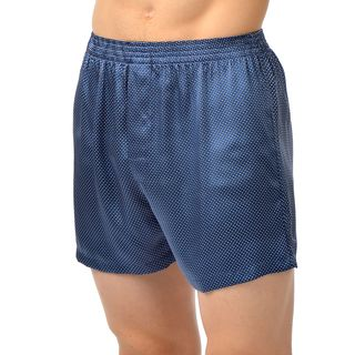 Cypress Men's Silk Charmeuse Boxer Shorts