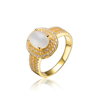 Collette Z Gold Plated Pearl Ring