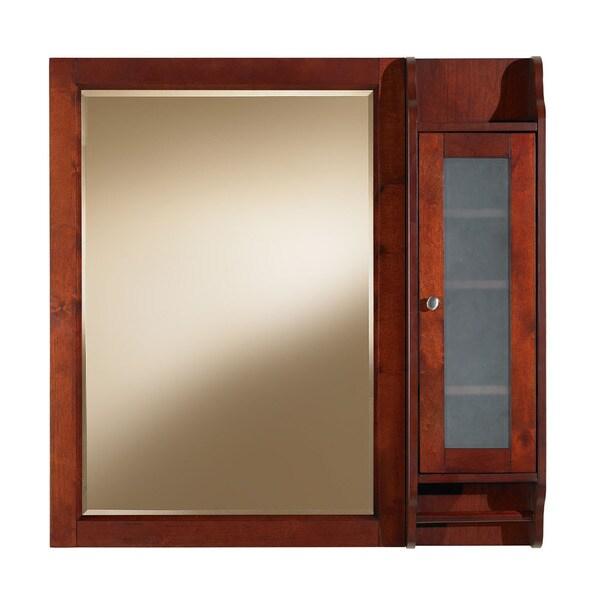 Shop Largo 36 Inch Rectangular Bathroom Vanity Mirror With