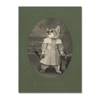 J Hovenstine Studios 'Cat Series #2' Canvas Wall Art