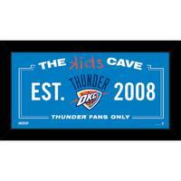 Steiner Sports NBA Oklahoma City Thunder 6x12 Kids Cave Sign