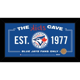 Steiner Sports MLB Toronto Blue Jays 10x20 Kids Cave Sign w/ Game Used Dirt from Rogers Centre