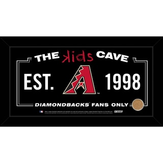 Steiner Sports MLB Arizona Diamondbacks 10x20 Kids Cave Sign w/ Game Used Dirt from Chase Field
