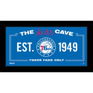 Steiner Sports NBA Philadelphia 76ers 10x20 Kids Cave Sign