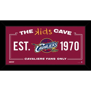 Steiner Sports NBA Cleveland Cavaliers 10x20 Kids Cave Sign