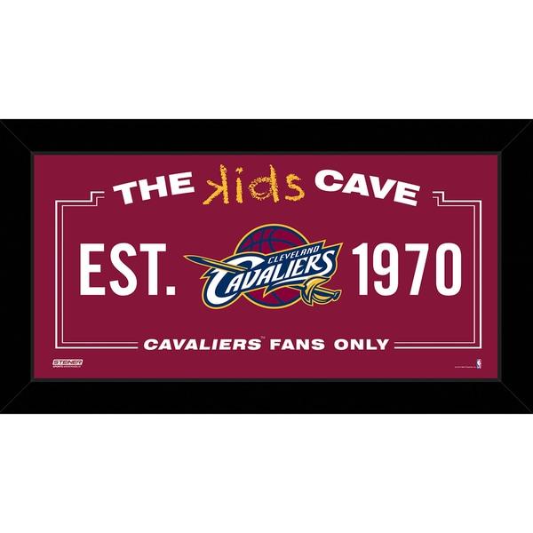 Steiner Sports NBA Cleveland Cavaliers 10x20 Kids Cave Sign