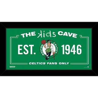 Steiner Sports NBA Boston Celtics 10x20 Kids Cave Sign