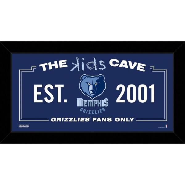 Steiner Sports NBA Memphis Grizzlies 10x20 Kids Cave Sign