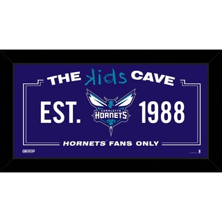 Steiner Sports NBA Charlotte Hornets 10x20 Kids Cave Sign