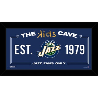 Steiner Sports NBA Utah Jazz 10x20 Kids Cave Sign