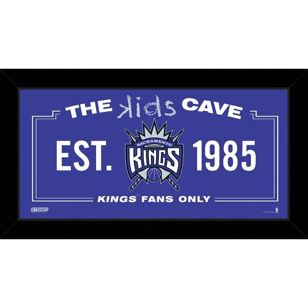 Steiner Sports NBA Sacramento Kings 10x20 Kids Cave Sign