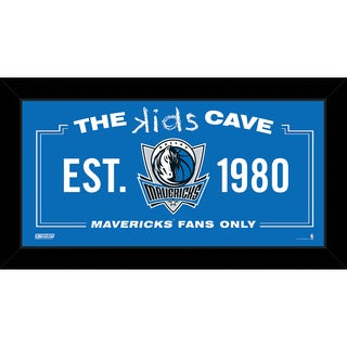 Steiner Sports NBA Dallas Mavericks 10x20 Kids Cave Sign