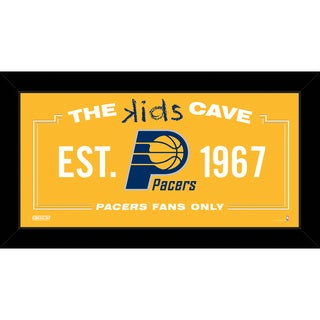 Steiner Sports NBA Indiana Pacers 10x20 Kids Cave Sign
