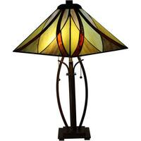 Sheen 2-light Multi-color 26-inch Tiffany-style Table Lamp