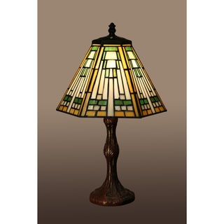 Kaye 1-light Multi-color 16-inch Tiffany-style Table Lamp