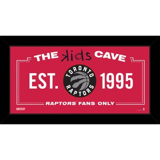 Steiner Sports NBA Toronto Raptors 10x20 Kids Cave Sign
