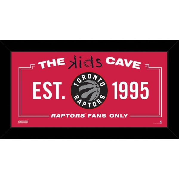 Steiner Sports NBA Toronto Raptors 10x20 Kids Cave Sign