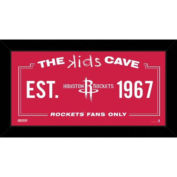 Steiner Sports NBA Houston Rockets 10x20 Kids Cave Sign