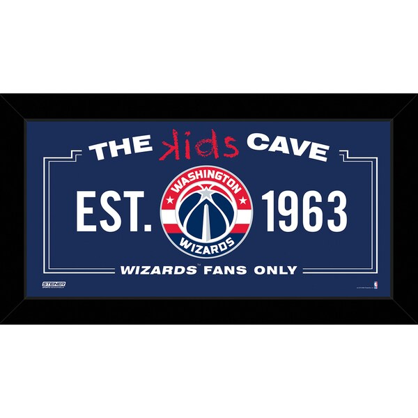 Steiner Sports NBA Golden State Warriors 10x20 Kids Cave Sign