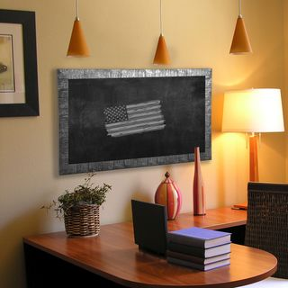 American Made Rayne Safari Silver Blackboard/Chalkboard (More options available)