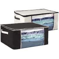 Sunbeam Under the Bed Blanket Storage with Clear Window