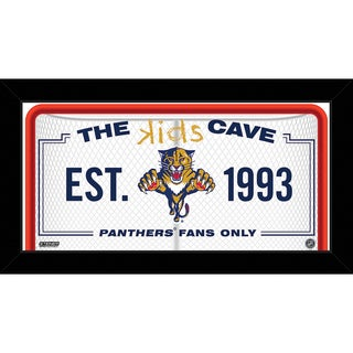 Steiner Sports NHL Florida Panthers 10x20 Kids Cave Sign