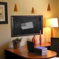 American Made Rayne American Walnut Blackboard/Chalkboard
