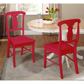 Simple Living Empire Chair (Set of 2)