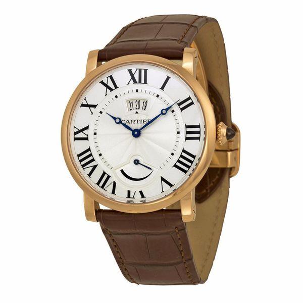 Cartier Men's Rotonde De Cartier Silver Watch. Opens flyout.