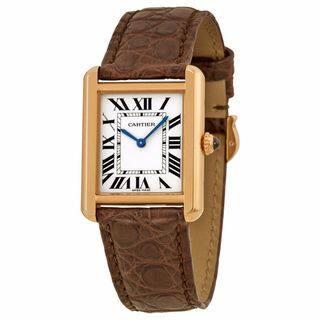 Cartier Women's Tank Solo Silver Watch