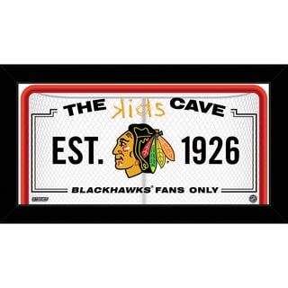 Steiner Sports NHL Chicago Blackhawks 10x20 Kids Cave Sign