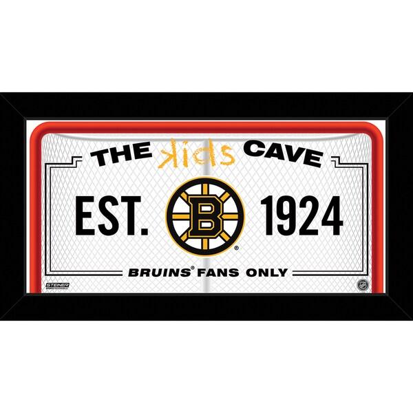 Steiner Sports NHL Boston Bruins 10x20 Kids Cave Sign
