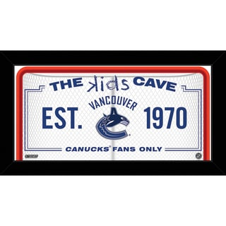 Steiner Sports NHL Vancouver Canucks 10x20 Kids Cave Sign