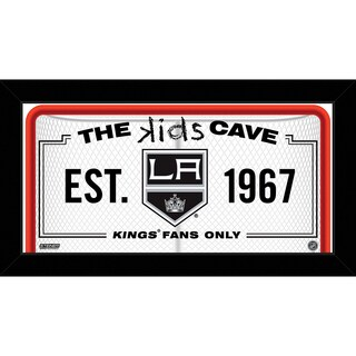 Steiner Sports NHL Los Angeles Kings 10x20 Kids Cave Sign