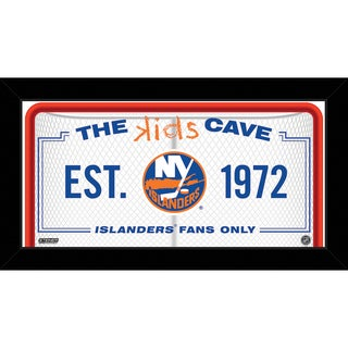 Steiner Sports NHL New York Islanders 10x20 Kids Cave Sign