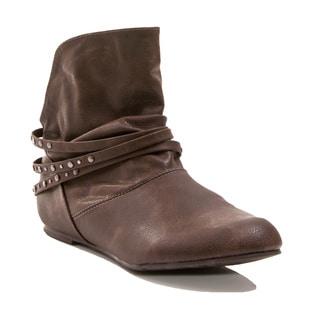 Gomax Women's Shoe Nantes 02 Flat Bootie