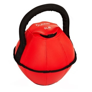 Sunny Health Fitness Soft 5-Pound Kettlebell