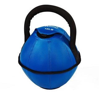 Sunny Health Fitness 10-Pound Soft Kettlebell