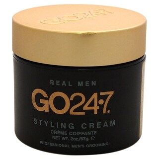 GO247 Men's Real Men 2-ounce Styling Cream