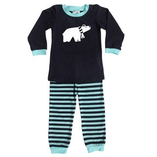 Rocket Bug Polar Bear Pajama Set for Infants and Toddlers