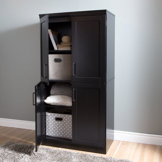 South Shore Morgan 4-door Shaker Armoire