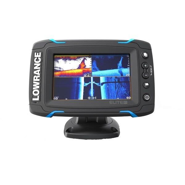 Lowrance Elite-5 Touch w/No XDCR Fishfinder
