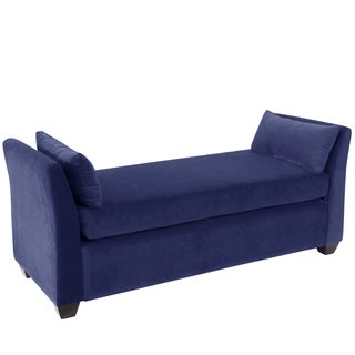 Skyline Furniture Navy Velvet Daybed