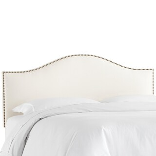 Skyline Furniture Shantung Pearl Nail Button Headboard