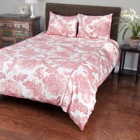 SB Rizzy Home Coral Comforter Set