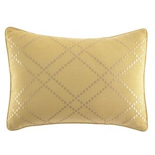 Tommy Bahama Daintree Tropic Ochre Diamond Pillow
