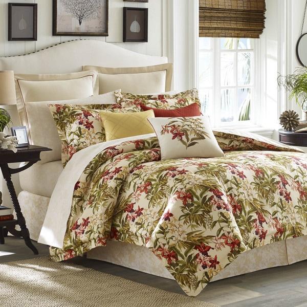 Tommy Bahama Daintree Tropic 4-piece Comforter Set