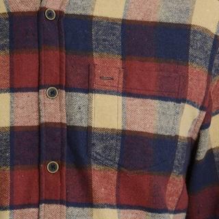 Jachs MFG Co. Men's Plaid Long Sleeve Flannel Collared Shirt
