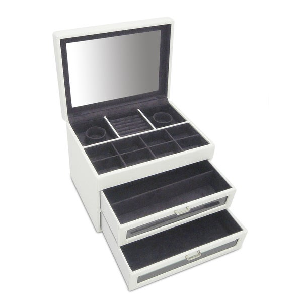 Morelle Co Mia Leather Jewelry Trunk Free Shipping Today