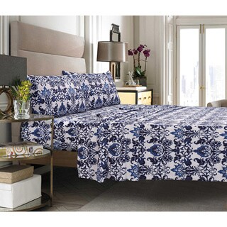 Catalina Printed Egyptian Cotton Percale Pillowcases (Set of 2)